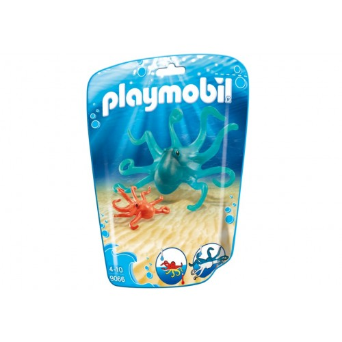 9066-Octopus with baby-novelty Playmobil 2017 Germany