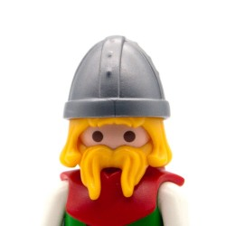 Elmo vichingo grigio-Playmobil 3150 3151 3152