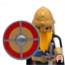 Viking scudo rotondo 1 Modello - 3150 3151 3152 3153 Playmobil