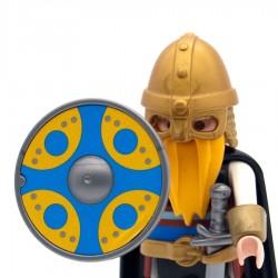 Shield Viking round model 2-Playmobil 3150 3151 3152 3153