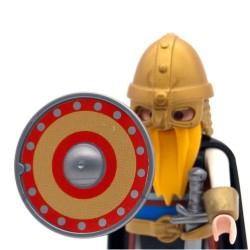 Viking scudo rotondo modello 3-Playmobil 3150 3151 3152 3153