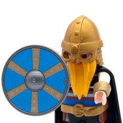 Model 4 round Viking shield - 3150 3151 3152 3153 Playmobil