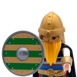 Viking scudo rotondo modello 5-Playmobil 3150 3151 3152 3153