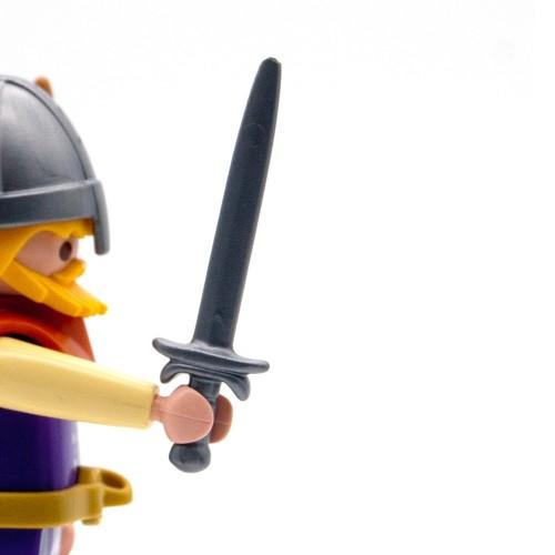 Espada Vikinga Gris - Playmobil Serie 3150 3151 3152 3153
