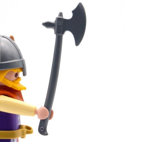 Hacha Vikinga Gris Grande - Playmobil Serie 3150 3151 3152 3153