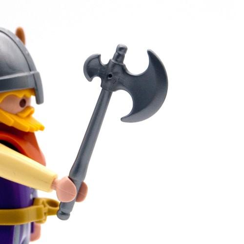 Hacha Vikinga Gris - Playmobil Serie 3150 3151 3152 3153