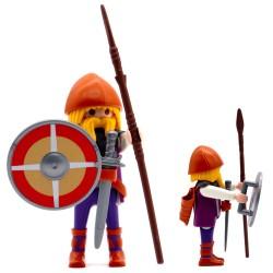 Guerrero Vikingo Lanza - Serie Playmobil 3150 3151 3152 3153