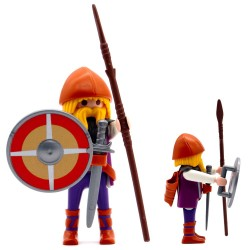 Lance de guerrier viking - série Playmobil 3150 3151 3152 3153