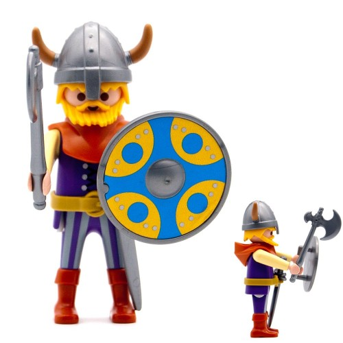 Corna di guerriero vichingo casco - serie Playmobil 3150 3151 3152 3153