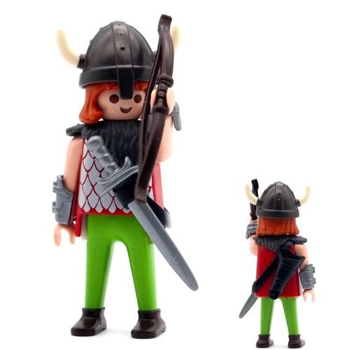 Guerriero vichingo Archer-serie Playmobil 3150 3151 3152 3153