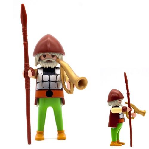 Viking Warrior corno - serie Playmobil 3150 3151 3152 3153