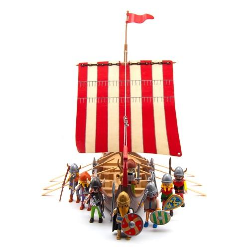 3150 - Barco Vikingo - Segunda Mano - Coleccionista - 100% Completo - OVP - Caja y Manual