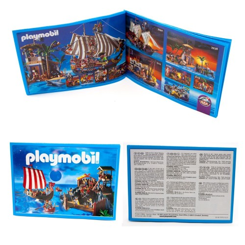 Mini catalogue Playmobil 2001 - collectors