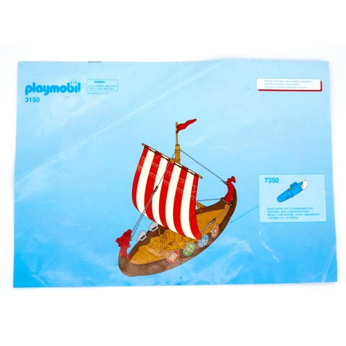 Playmobil di 3150 manuale originale