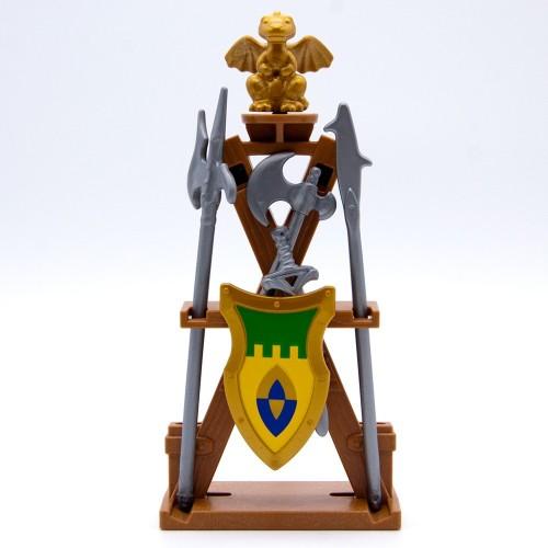 Armero Medieval Dragón Playmobil - Escudo Armas