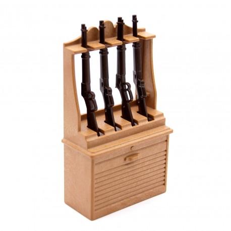 Furniture dealer with shotguns playmobil western west for Sofas de ocasion