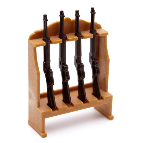 Armero Bajo del Oeste con Escopetas Playmobil - Western