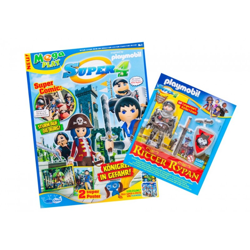 Playmobil Super 4 Magazin